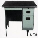 Meja Kantor Besi Berikut Laci type L-106