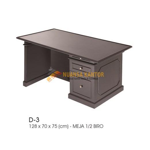 Meja Kantor INDACHI D-3 (128cm)