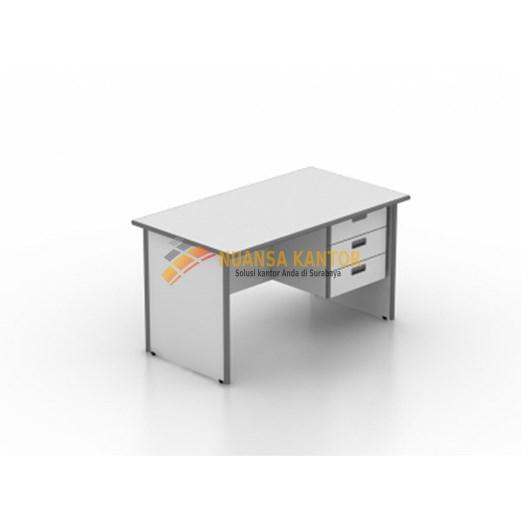 Meja Kantor Modera MOD 102 (100cm) + 3 Laci gantung