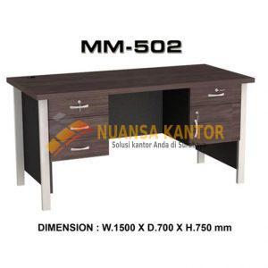 Meja Kantor VIP MM 502