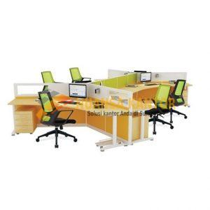 Partisi Kantor Indachi 6 L 120
